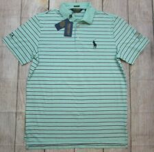 NEW Polo Golf Ralph Lauren Evitt Foundation Pony Logo Green Shirt sz Men's Large