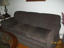 La-Z-Boy sofa, dark brown