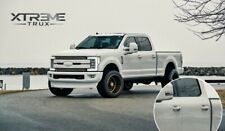 Z1 Oxford White Painted 17-21 Ford F250 F350 Door Handle Covers Color Match Set