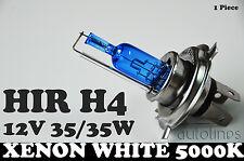 1x H4 HIR 35/35W P43t 12V Xenon White 5000K Motorcycle Bike Headlight Bulb Globe