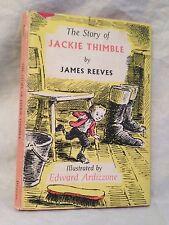James Reeves / Edward Ardizzone - Jackie Thimble - 1st/1st 1964 in DW, Nice Copy