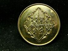 Unknown Women'S Coa Lozenge #1 (Widow) 26mm Gilt Livery Button Firmin 1852-76
