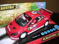 Peugeot 307 WRC  Ref. 6161 de  Scalextric  NUEVO   VEW