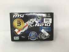 MSI NVIDIA GeForce 210 (N210MD512H) 512MB GDDR2 SDRAM PCI Express x16