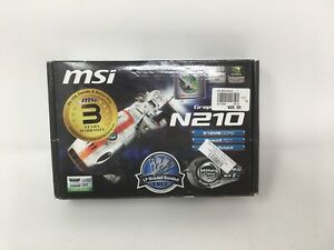 MSI NVIDIA GeForce 210 (N210MD512H) 512MB GDDR2 SDRAM PCI Express x16