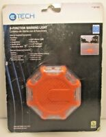 E Tech Commercial 8-Function Safety Warning Light - New