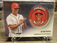 Juan Soto Topps 2020 Coin Relic Insert Parallel MVP Nationals HOT 🔥🔥🔥