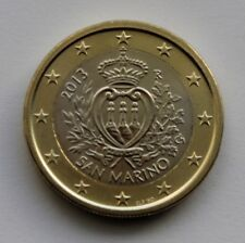 SAN MARINO  1 € Euro circulation coin  2013 uncirculated