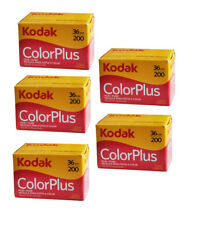 New Boxed Kodak Colorplus 200 35mm 36exp Film 5Rolls  / Date 08/2019