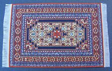 1:12 Scale 10cm x 15.5cm Woven Turkish Rug Tumdee Dolls House Small Carpet P5s