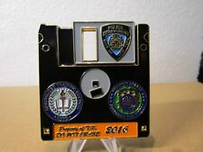NYPD Police Academy Computer Unit Specialized Training Challenge Coin #7071