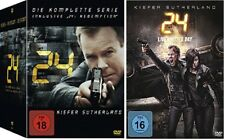 24 Staffel 1-9 (1+2+3+4+5+6+7+8+Redemption+Staffel 9) Komplette Serie DVD Set