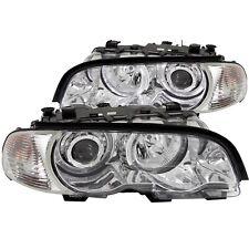 Anzo USA 121268 Projector Headlight Set w/Halo Fits 323Ci 325Ci 328Ci 330Ci M3