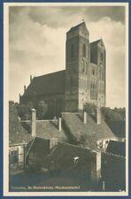 Prenzlau St Marienkirche Nordwestseite, ungebraucht (AK3702)