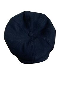 Ted Baker Flat Cap 60cm Dark Navy
