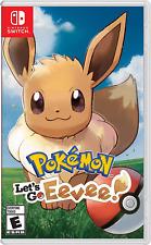 Pokemon: Let's Go Eevee! (Nintendo Switch, 2018) Brand New - Region Free