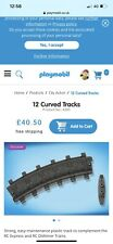 Playmobil - 4385 - 10 x Curved Track - For RC Train