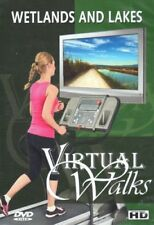 WETLANDS AND LAKES VIRTUAL WALK WALKING TREADMILL WORKOUT DVD AMBIENT COLLECTION