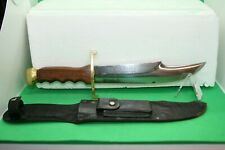 1950's~SOLINGEN ~AFRICAN HUNTER~13154~HANDMADE BOWIE KNIFE W/ORIG. SHEATH~