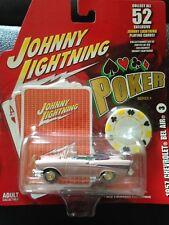 Johnny Lightning  1957 Chevrolet Bel Air. No. 3
