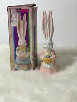 """Easter Bunny Bell """" BUNNY BELL -  PINK - CERAMIC """"  .     Brand New Condition!"""