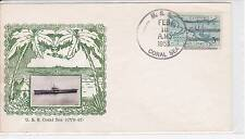 1954 GMAHLE NAVAL COVER USS MEDUSA AR-1 CACHET W/ USS SALEM CANCEL 5/28/1954