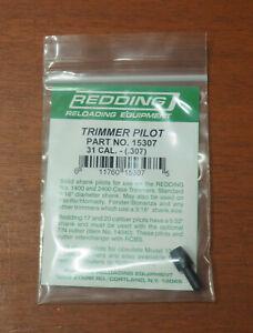 """Redding Trimmer Pilot-.31 Caliber (15307) .307"""" Diameter-(NIP)"""