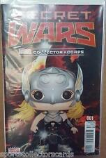 comic #001 MARVEL SECRET WARS VARIANT COVER EDITION COLLECTOR CORPS EXCLUSIVE