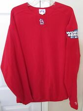 MLB St. Louis Cardinals 2004 World Series Champs Long Sleeve Shirt Large by Maje