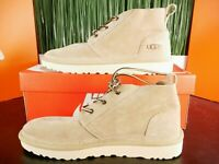 UGG Neumel Charles F. Stead Suede Mid Chukka Boots Tan Mens Size 11-12