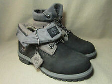 VGC TIMBERLAND ROLL TRACK Junior Grey Fold Down Ankle Boots US 4M/UK 3.5/EU 36