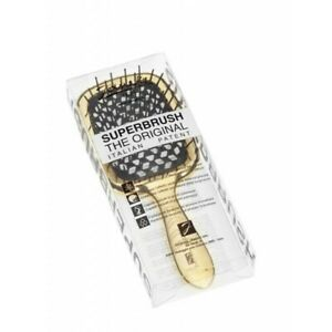Janeke Superbrush, Golden / SILVER Rectangular Superbrush
