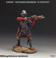 Knight  Crusader Tin toy soldier 54 mm figurine metal sculpture HAND PAINTED