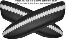 Black & White 2 Panteras Puerta Apoyabrazos, Cubierta De Cuero Para Bmw Mini Cooper 04-06