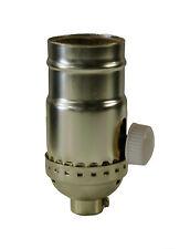Incandescent Lamp holder Socket Dimmer, Polished Gilt