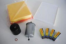 Inspektionspaket Inspektionskit Filterset VW Golf 3 1,6 55KW 75PS AEA ABU