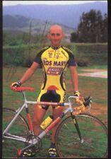LUCA GELFI cp Signée ROS MARY AMICA cyclisme ciclismo Autographe Cycling