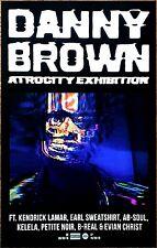 DANNY BROWN Atrocity Exhibition 2016 Ltd Ed RARE New Poster +FREE Hip Hop Poster