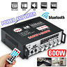 600W Bluetooth Endverstärker Bass Stereo HIFI Audio SD AMP FM USB Car Home