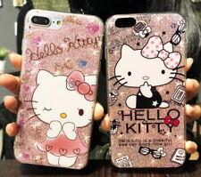 Glitter Design Hello Kitty Hybrid Case iphone 7 plus  / iphone 8 plus (5.5 inch)
