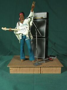 Jimi Hendrix Woodstock Loose for Display McFarlane 2003