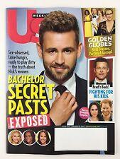 Us Weekly Magazine 1/23/2017 Nick Viall Golden Globes Prince Harry Meghan Markle