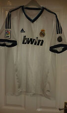 Mens Football Shirt & Shorts Kit Real Madrid Adidas Home 2012 - 110Y Anniversary