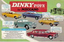DINKY toy CATALOGO ORIGINALE 1965 Canada 16 pagine PUB. NO. 72557