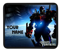 PERSONALISED CUSTOM 'TRANSFORMERS MOVIE' MOUSE MAT / PAD - PC/Laptop