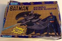 BLUE-BOX TOYS - BATMAN - BATWING WATER BLASTER - SEALED, ORIGINAL INSTRUCTIONS