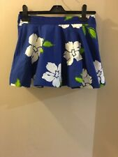 hollister summer/beach Lined skirt, size Small, Floral, Good Condition