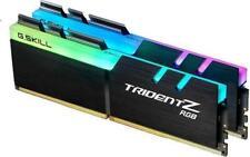G.Skill Trident Z RGB DIMM Kit 32GB, DDR4-3200, CL16 (2x16GB) DDR4 Ram Speicher
