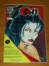 SHI #3 NM (9.4) CRUSADE COMICS SIGNED BY WILLIAM TUCCI PETER GUTIERREZ WITH COA