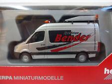 Mercedes-Benz Sprinter BF3 Spedition Bender Herpa 092159 1:87 Neu